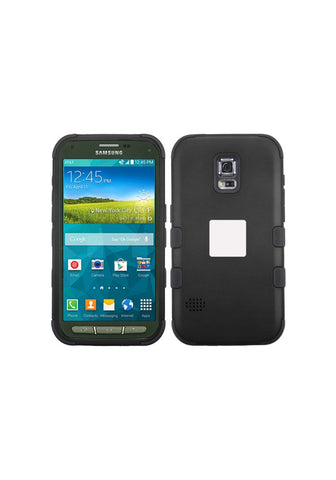 RUGGED Rubberized Black/Black – Galaxy S5 Active