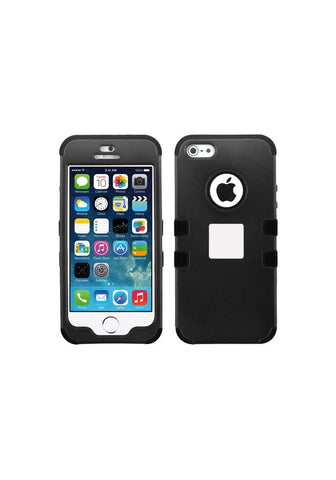 RUGGED Rubberized Black/Black – iPhone 5s / 5