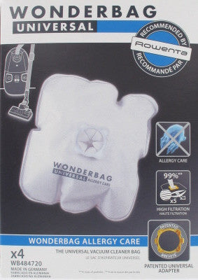 Sac Aspirateur Rowenta Wonderbag Allergy Care - WB484720