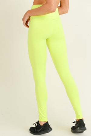 Neon High Rise Tights