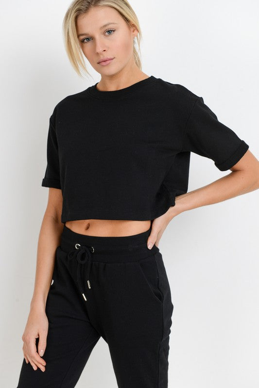 Simon Cropped Tee