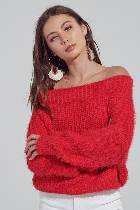 Lovely Red Sweater
