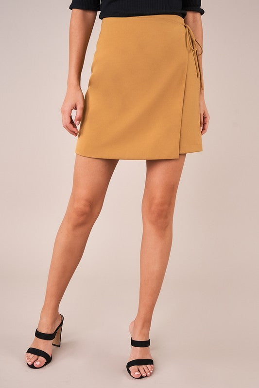 Amara Golden Skirt