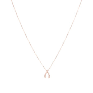 RG Wishbone Necklace