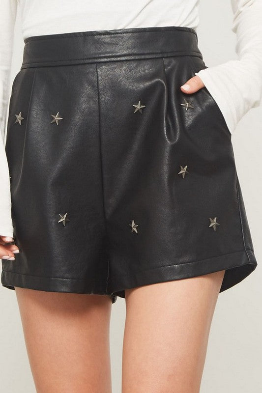 Star Studded Shorts
