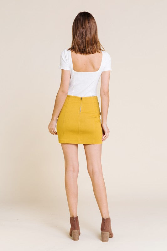 Saint-Michael Mini Skirt