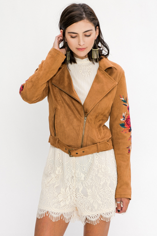 Grace Suede Jacket