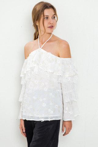 Premium Collection - Appliqué Blouse