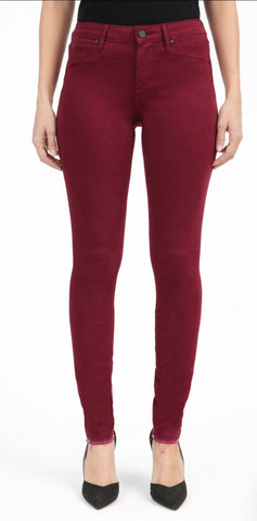 Colored Sarah Release Hem Jeans