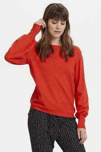 Poinciana Knitted Pullover