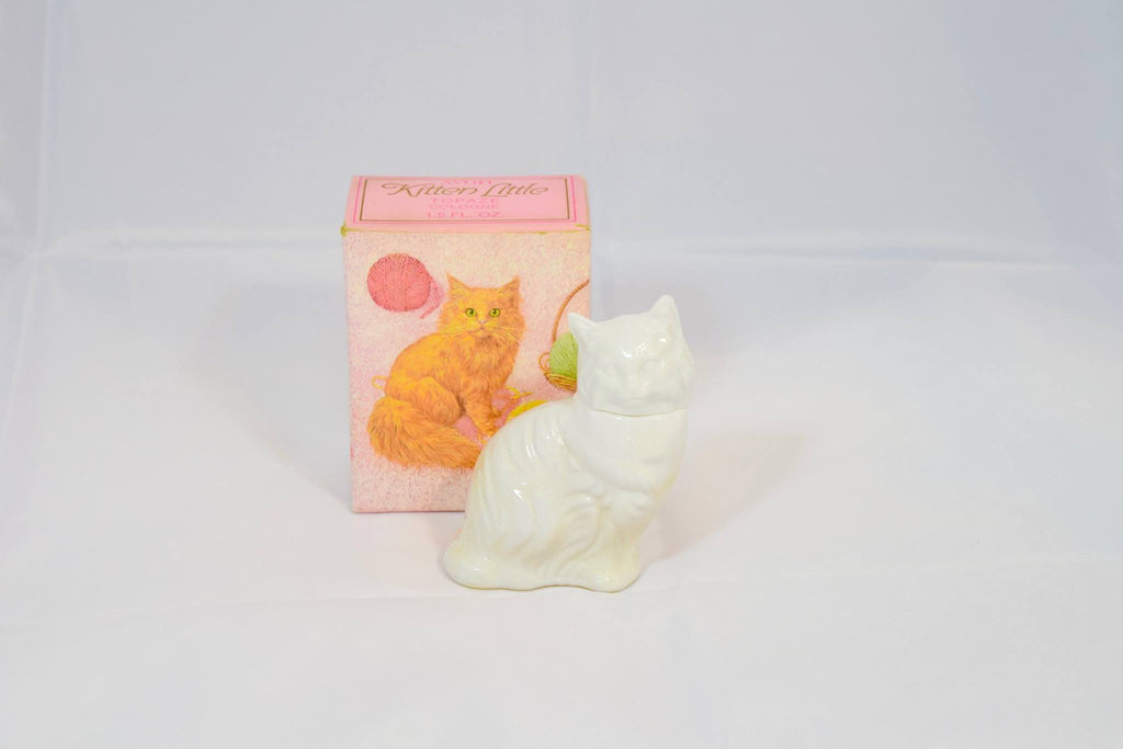1970s Avon Kitten Little  Topaze Cologne - Never Used Vintage
