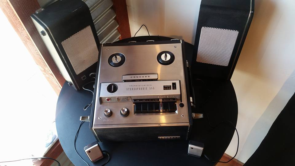 Vintage 1957 Reel to Reel 2 Track Recorder