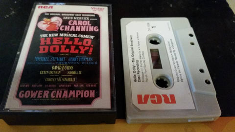 Hello Dolly! Vintage Cassette Recording - 1964 Original Release  - Like New!