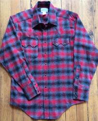 Women's Plaid Flannel Western Shirt