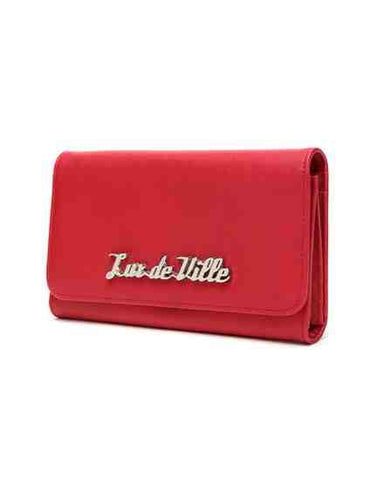 Miss Lux Wallet in Red Matte