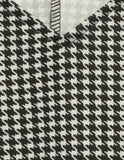 Houndstooth Angular Dress