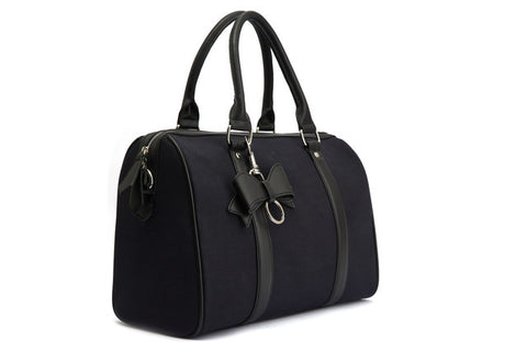 Lola Ramona Viola Tote in Solid Black