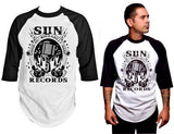 Sun Records Rockabilly Music Raglan Shirt