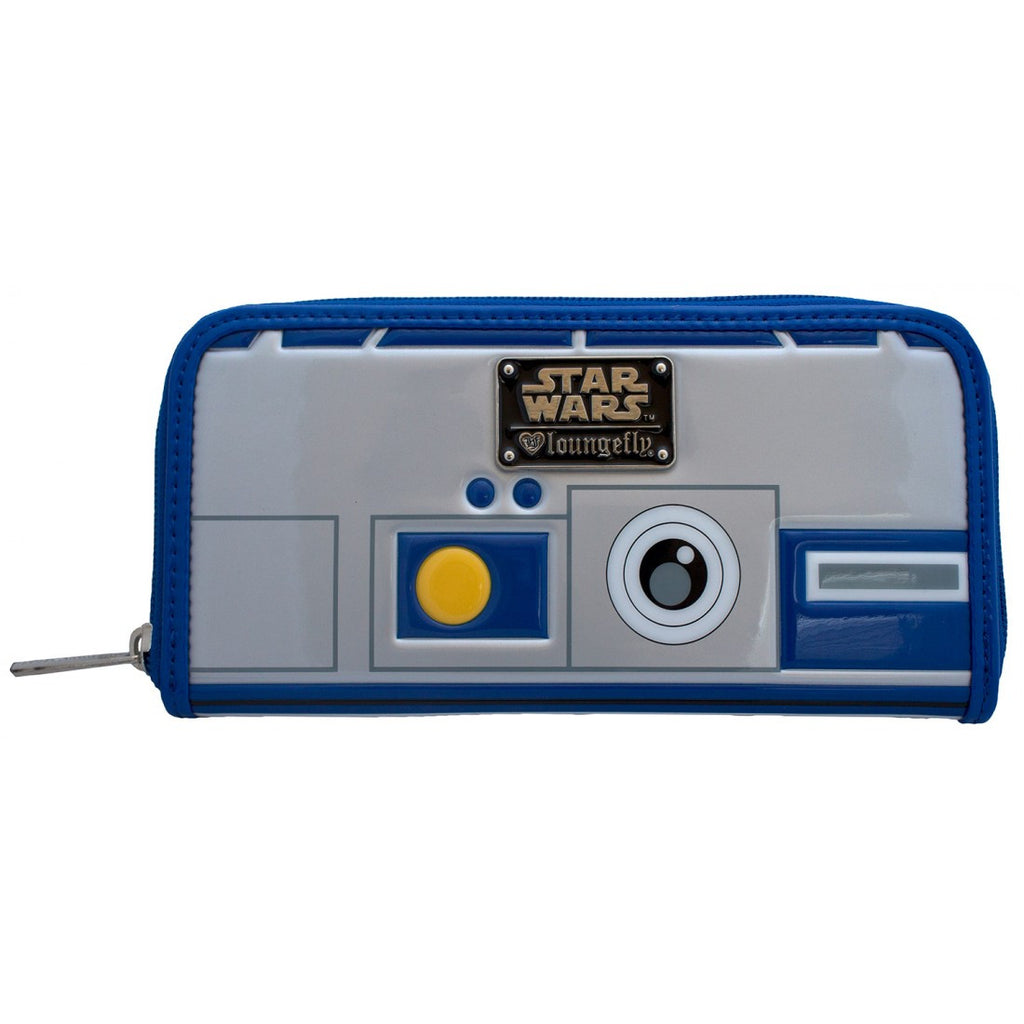 Loungefly Star Wars R2-D2 Zipper Wallet