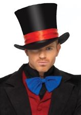 Deluxe Mens Velvety Top Hat - Last one