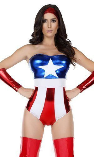 Superhero Sexy Costume by Forplay