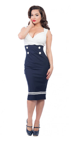 Diva-licious Nautical Dress