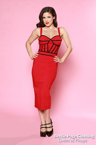 Bettie Page Wiggle Dress