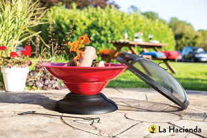 Bring a little warmth to your garden - chimnenas and firepits