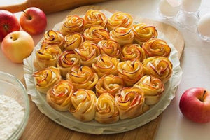 Apple Rose Pastries - bloomin' great!
