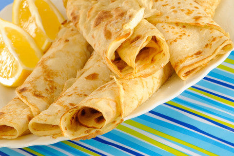 A new take on pancakes - cook them on the BBQ!