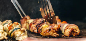 Best BBQ Chicken Kebabs