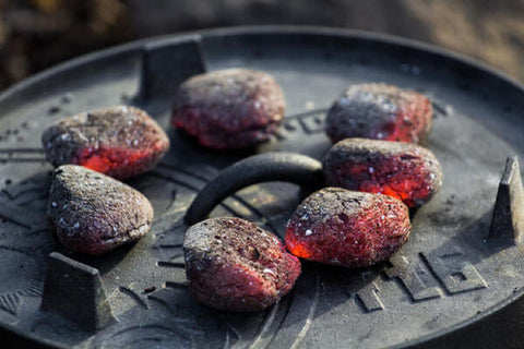 Coals on the lid