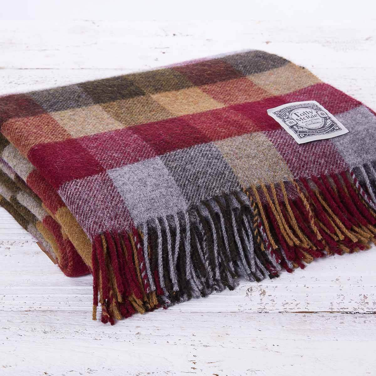 Country Checked Picnic Blanket