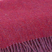 Cranberry Red Picnic Blanket