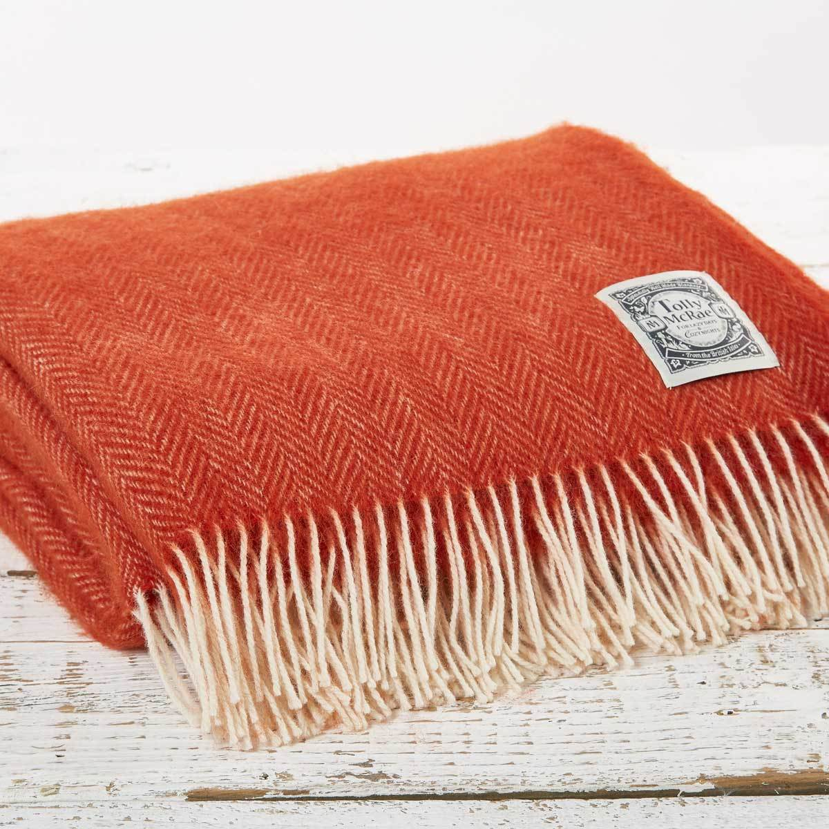 Fox Orange Picnic Blanket