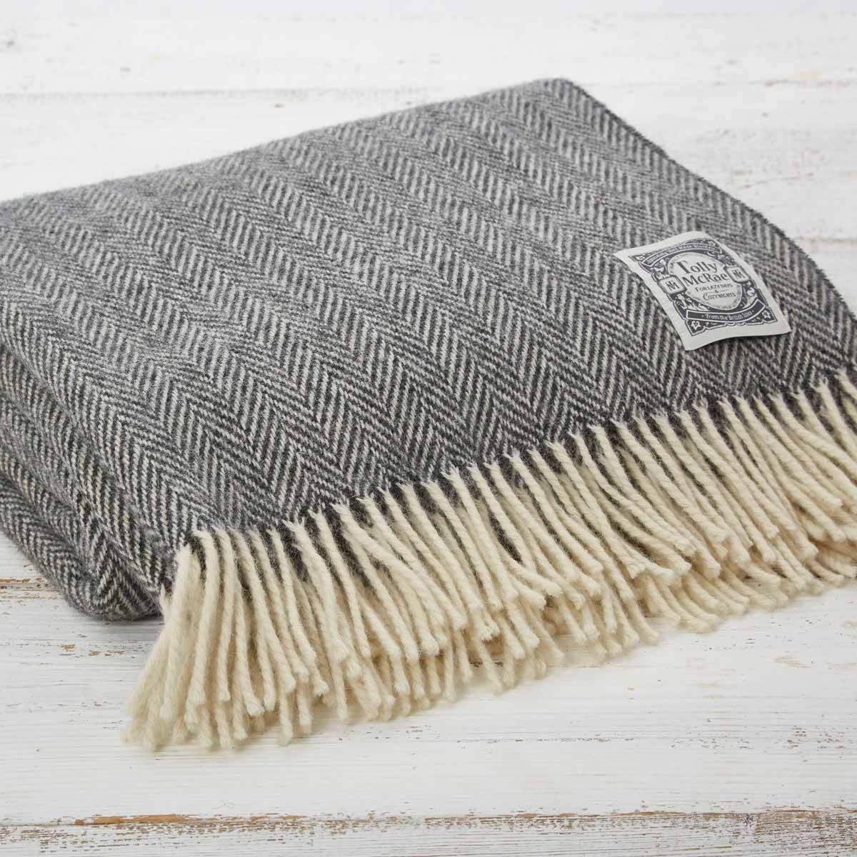 Warm Grey Picnic Blanket