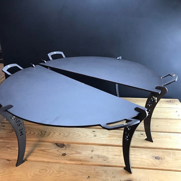 *NEW* Netherton Foundry Black Iron Chapa Fire Table Made in England No PTFE