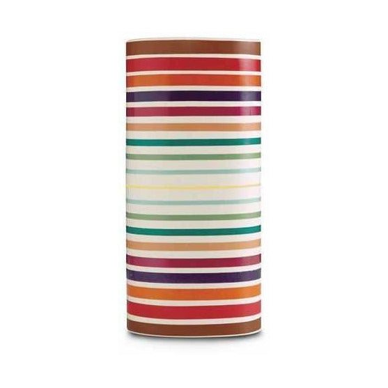 Missoni Home Bayadere 100 Vase 8 x 24 in