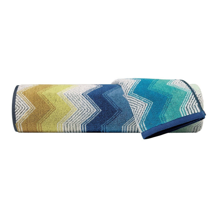 Missoni Home Selma Multi Blue Set of 2 Towels