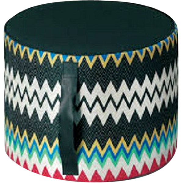 Missoni Home Marki 100 Cylinder Pouf 16 x 12 IN