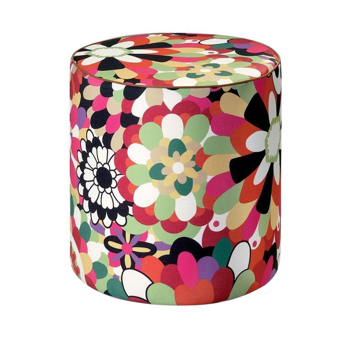 Missoni Home Omaha Multi Color Pouf 18 x 18 in