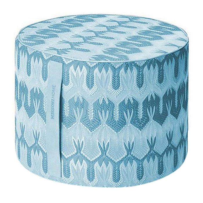 Missoni Home Ormond Cylindrical Pouf 16 X 12 IN