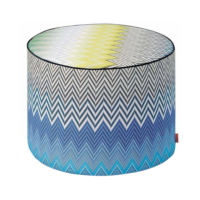 Missoni Home Sabaudia Cylinder 170 Pouf 16 x 12 in
