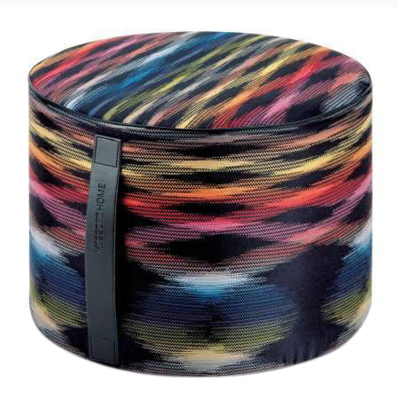 Missoni Home Stoccarda 160 Cylinder Pouf 16 X 12 IN