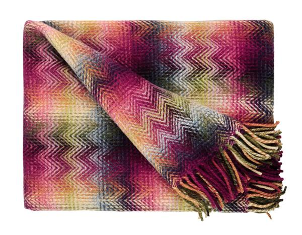 Missoni Home Montgomery Multi Color Throw 51 x 76 in