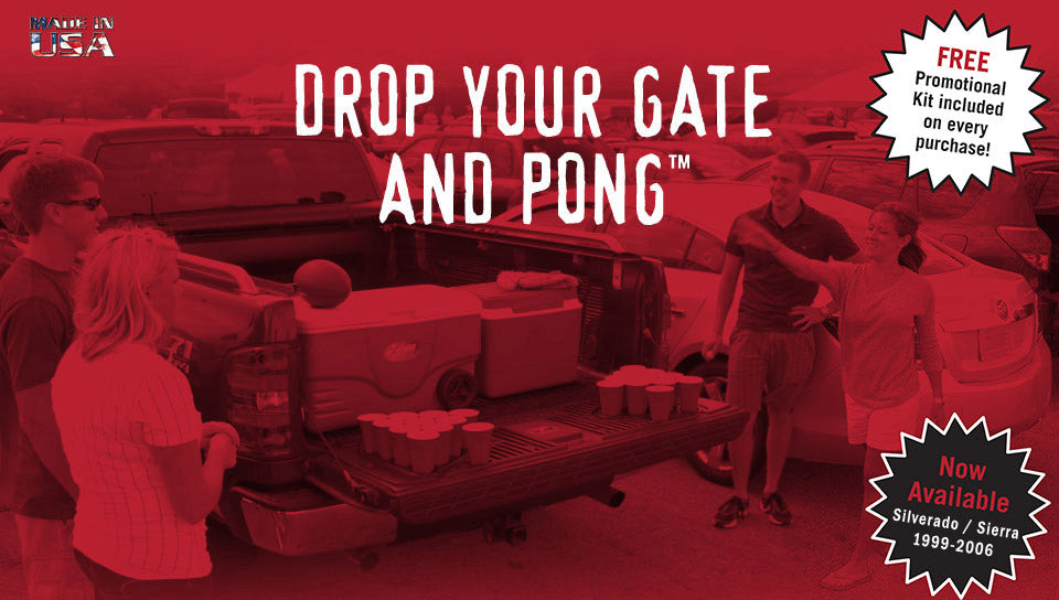Drop Your Gate and Pong