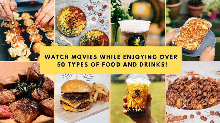 Watch Blockbuster Movies While Enjoying Yummy Treats and Things...Because You Deserve It!