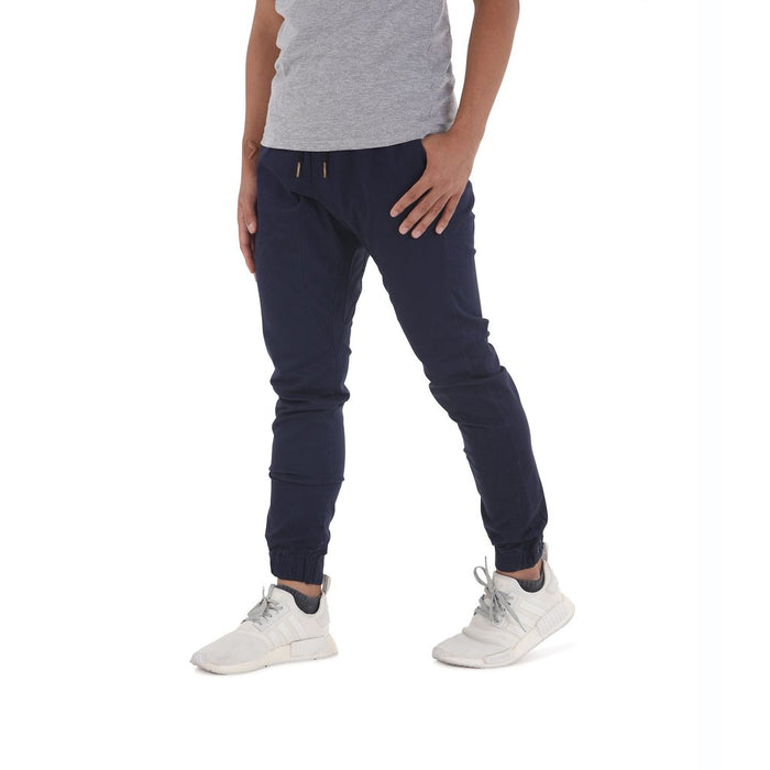 Zeeq Label – Capsule Jogger Pants (Navy Blue) - RoseValley