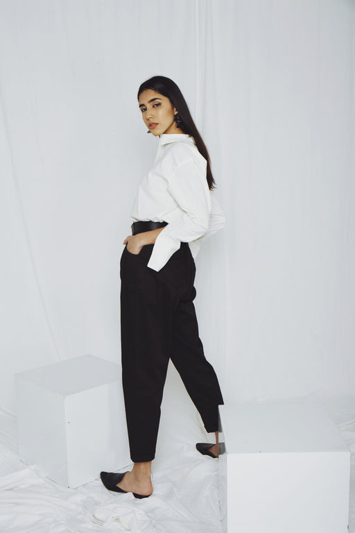Bobi Ankle Pants – Black - RoseValley