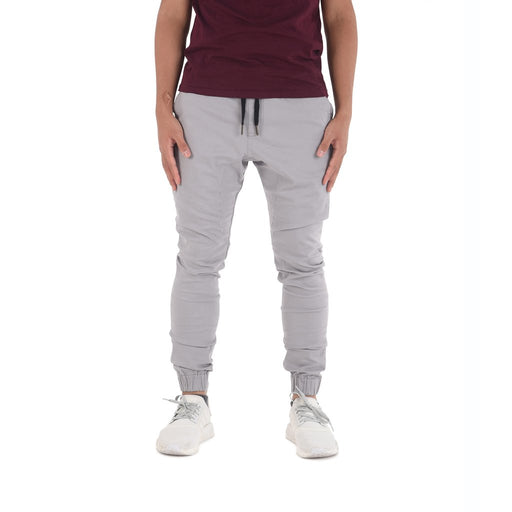 Zeeq Label – Capsule Jogger Pants (Light Ash Grey) - RoseValley